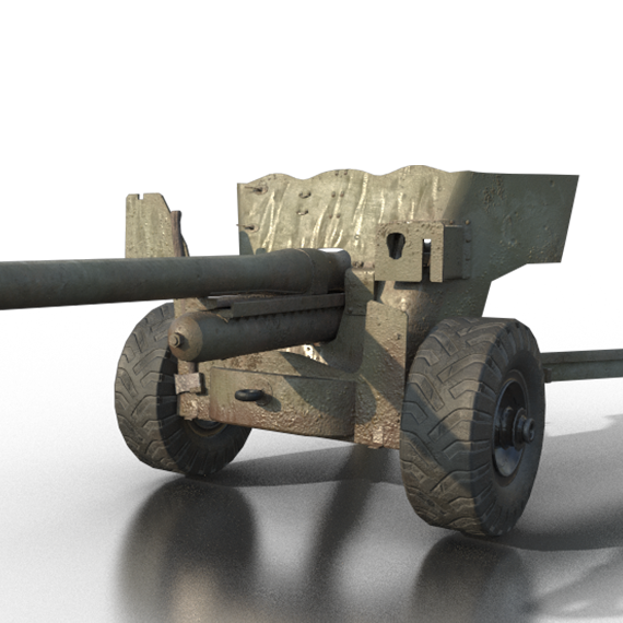 QF6 Pounder (AT Gun)